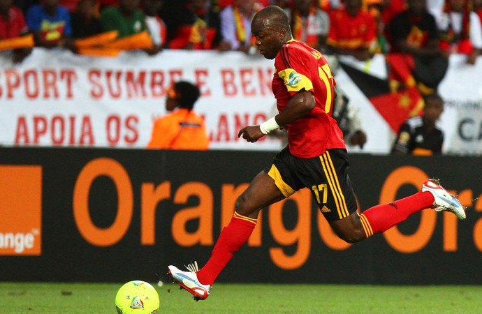 Mateus Galiano da Costa jogo Angola (Foto: Getty Images)