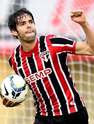 Kaká gol jogo Goiás x São Paulo (Foto: Buda Mendes / Getty Images)
