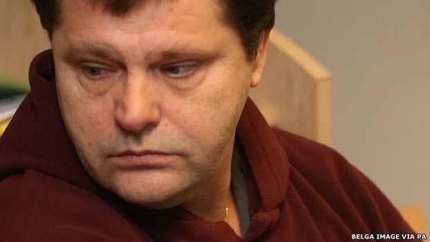 Frank Van den Bleeken será o primeiro preso a passar pela eutanásia desde que lei foi aprovada há 12 anos (Foto: Belga Image via PA)