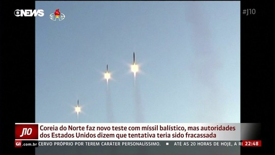 Coreia do Norte falha de novo em teste de míssil, dizem EUA