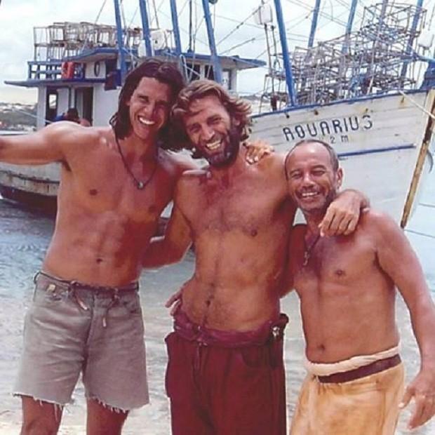 Márcio Garcia, Herson Capri e Stênio Garcia (Foto: Instagram / Reprodução)