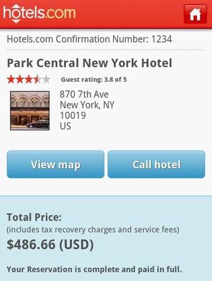 Hotéis e Reservas