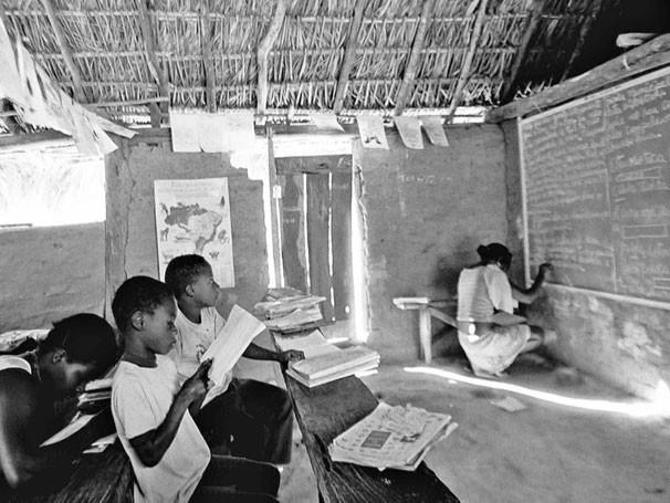Fotógrafo registrou vida da última comunidade de escravos de Goiás (Foto: Reprodução de TV)