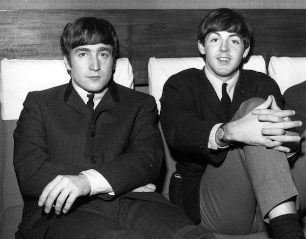 Os Beatles John Lennon e Paul McCartney (Foto: Getty Images)