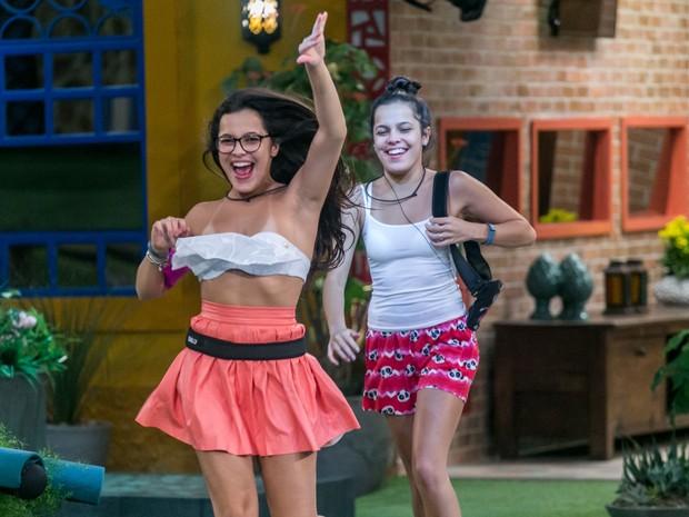Emilly e Mayla Araújo (Foto:  Globo/Paulo Belote)
