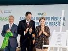Dilma e Agnelo inauguram nova sala de embarque no aeroporto de Brasília