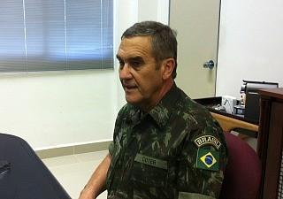 General Eduardo Villas Boas falou ao G1 sobre a preparação para a Copa (Foto: Leandro Tapajós/G1 AM)