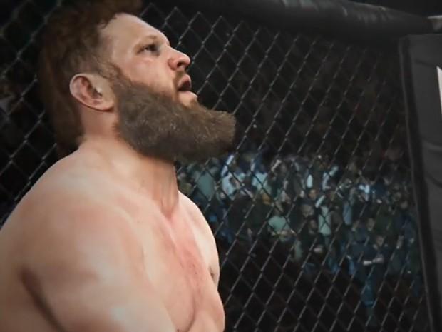 Roy Nelson, o 'gordinho do UFC', aparece em novo trailer do game 'EA Sports UFC' (Foto: Reprodução/YouTube/EA Sports)