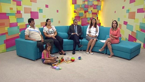 Painel RPC TV falou sobre como criar uma relação saudável entre a criança e a tecnologia (Foto: Reprodução)