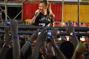 Claudia Leitte se apresenta em micareta em Fortaleza, no Ceará (Foto: Felipe Souto Maior e Dayviane Lima/ Ag. News)