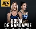 UFC lança divisão peso-pena feminino com Holm x De Randamie pelo título