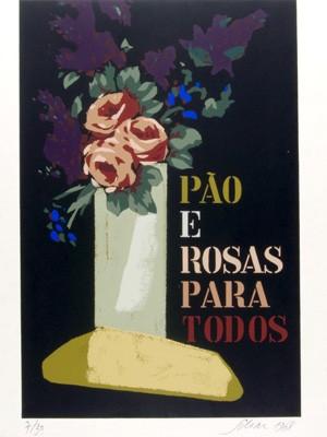 Pão e Rosas é uma das obras de Carlos Scliar no Memorial Getúlio Vargas (Foto: Reprodução)