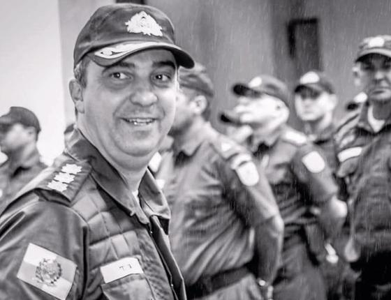 O coronel Teixeira.Ele morava próximo ao batalhão e ajudou (Foto:  Reprodução)