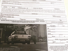 Carro estacionado recebe multa por alta velocidade em Araraquara, SP