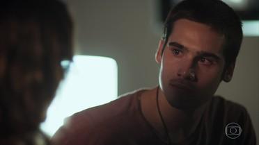 Zac fica decepcionado com Mariane