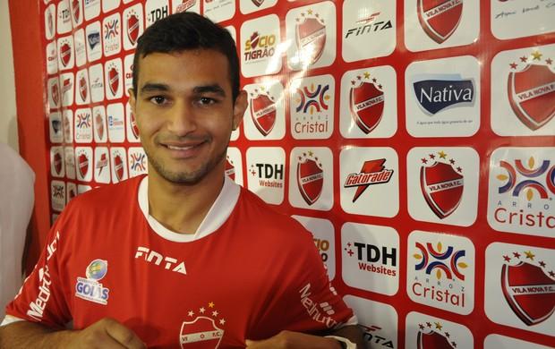Felipe Brisola - meia Vila Nova (Foto: Guilherme Gonçalves / Globoesporte.com)