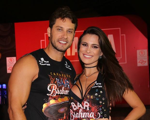 Elieser e Kamilla Salgado (Foto: Deividi Correa/ AgNews)