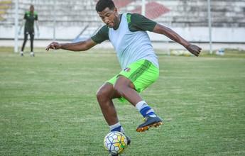 Lesão de Tiago Costa faz Allan Vieira voltar a ter espaço no Santa Cruz