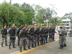 Polícia Militar é uma das menos corruptas do país (Foto: Janine Brasil/G1)