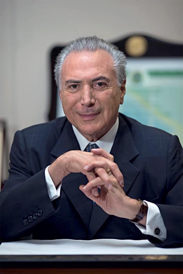 """PROTAGONISMO O vice-presidente Michel Temer. """"Nós, do PMDB, não somos aliados. Somos governo"""" (Foto: Igo Estrela/ÉPOCA)"""