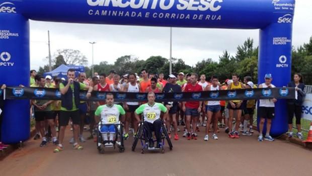 Ponta Grossa recebe 6ª etapa do Circuito Sesc de Corrida e Caminhada (Foto: Divulgação/Sesc Paraná)