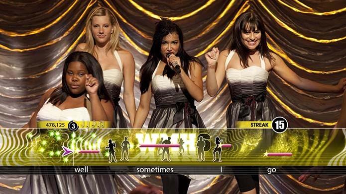 Jogo musical de Glee é uma alternativa interessante para os fãs (Foto: Reprodução)
