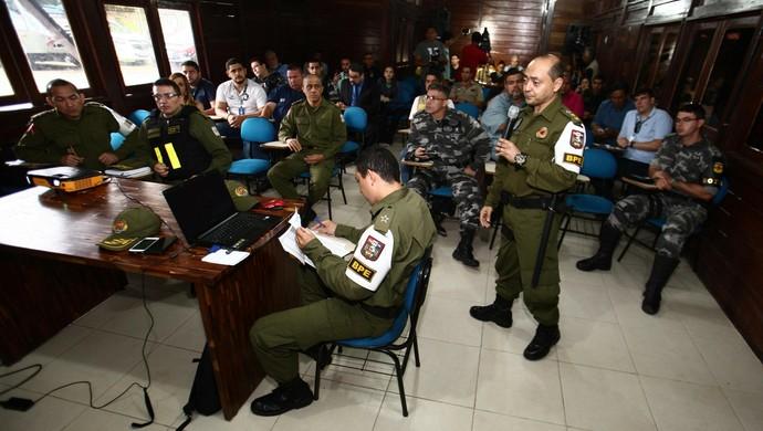 Esquema de segurança do clássico entre Remo e Paysandu terá 700 homens (Foto: Agência Pará)