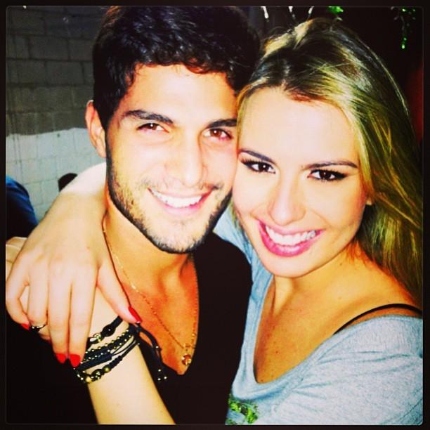 Fernanda e André (Foto: Reprodução/Instagram)
