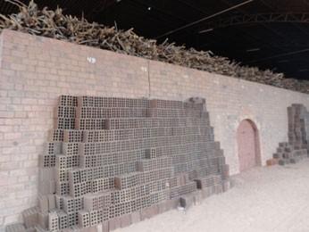Em PE, lenha nativa da caatinga é apreendida em fábrica de cerâmica (Foto: CPRH / Divulgação)