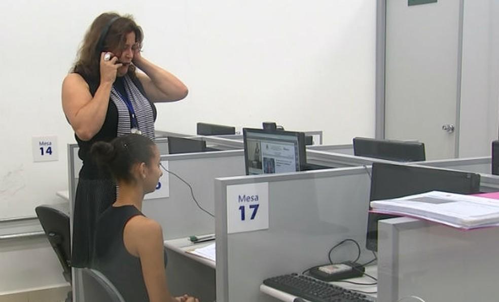 Provas de exames da UFU passarão a ser gravadas em vídeo e áudio (Foto: Reprodução/TV TEM)