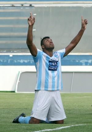 gol de jones, macaé x america-rj (Foto: Tiago Ferreira / Macaé Esporte)