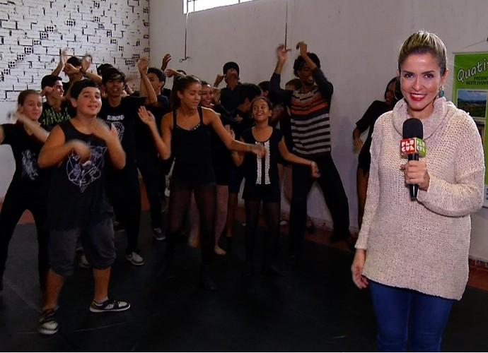 Diana Sabadini acompanhou os bastidores das audições para um musical (Foto: Plugue)