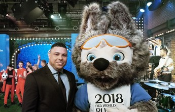 Ronaldo Fenômeno revela o mascote da Copa de 2018: o lobo Zabivaka