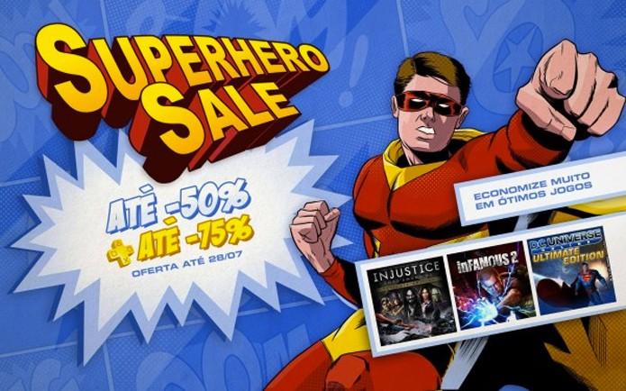 PSN se destaca nesta semana, com promoção de super-heróis (Foto: Divulgação)