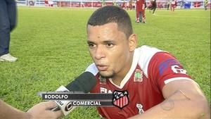 Rodolfo, do Comercial-MS (Foto: Reprodução/TV Morena)