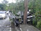 Motoristas ficam feridos em colisão na Av. Rodrigo Otávio em Manaus