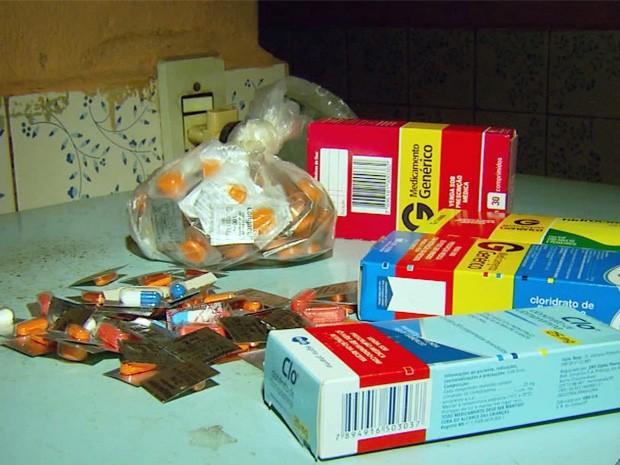 Mãe da criança fazia tratamento no Caps e tomava remédios (Foto: Reprodução EPTV)