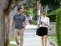Ben Affleck e Jennifer Garner passeiam juntos após flagra de choro