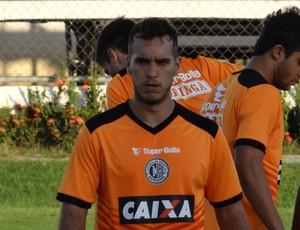 Rai no treino do ASA (Foto: Leonardo Freire/GloboEsporte.com)