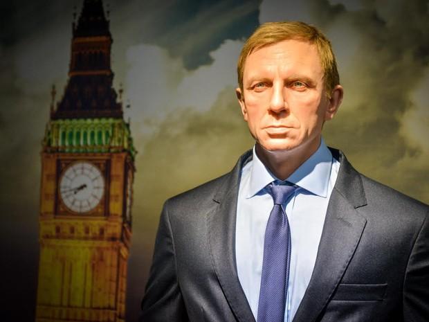 """O James Bond interpretado pelo ator Daniel Craig em """"Casino Royale"""" também está na exposição (Foto: Divulgação / Dreamland)"""
