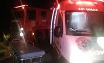 Pai e dois filhos ficam feridos em acidente (Balanço Notícias/ Reprodução)