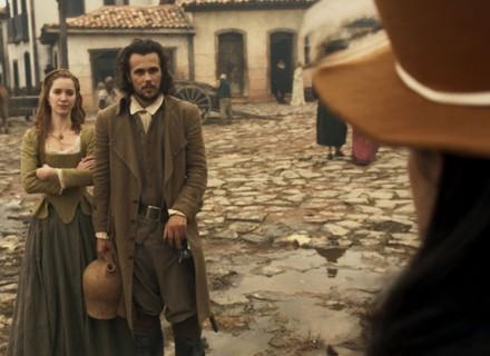 Joaquina vê Xavier e Branca juntos