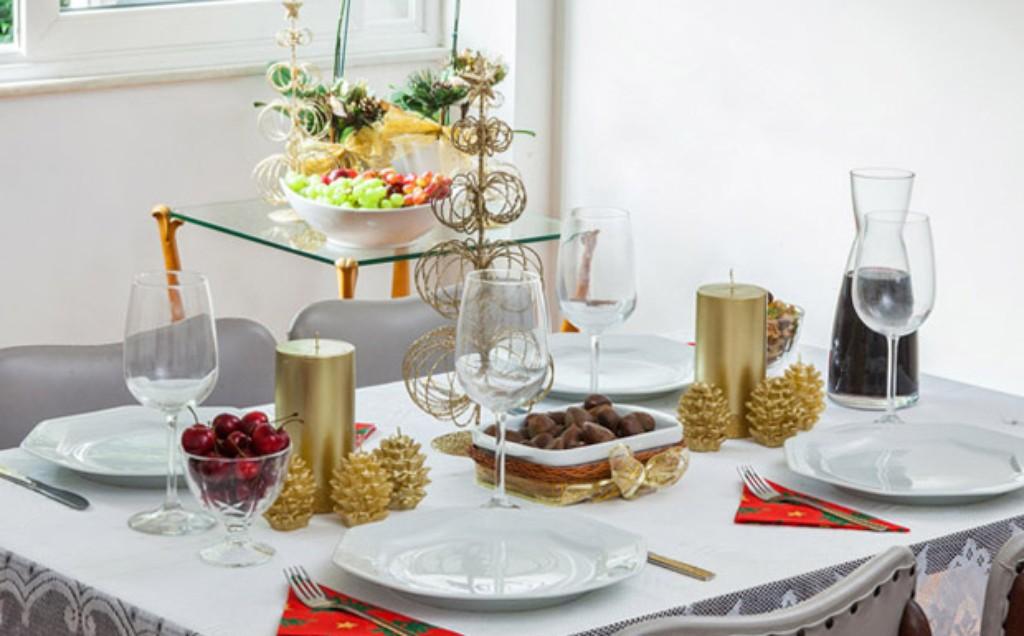 Como decorar a mesa para o Ano Novo veja fotos Casa GNT -> Como Decorar Frutas Para Ano Novo