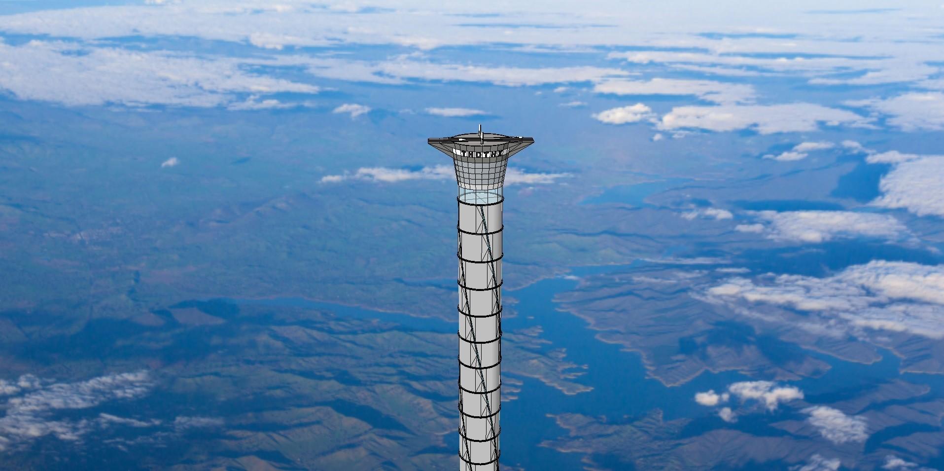 Elevador 'espacial' com altura de 20 quilômetros é patenteado