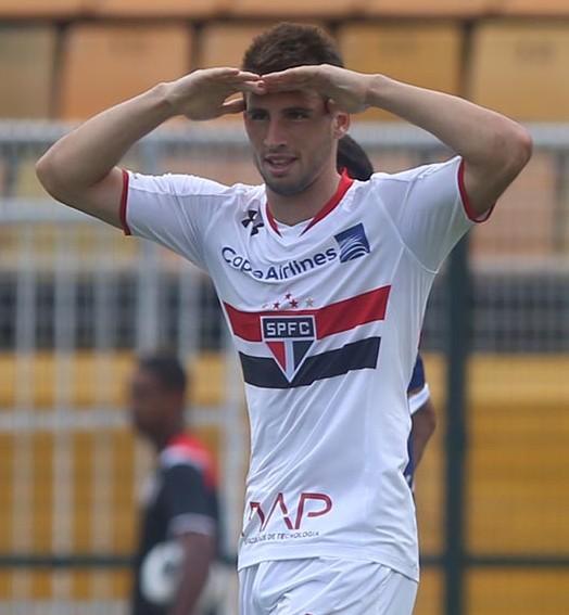 sucesso à vista (Rubens Chiri / saopaulofc.net)
