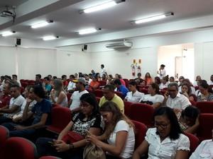Reunião de aprovados (Foto: Arquivo pessoal/Carlos Moura)