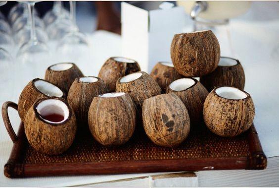 Cocos decorao (Foto: Pinterest)