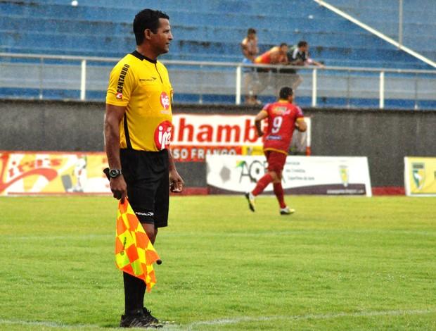 João Jácome, árbitro assistente do Acre (Foto: Manoel Façanha/Arquivo Pessoal)