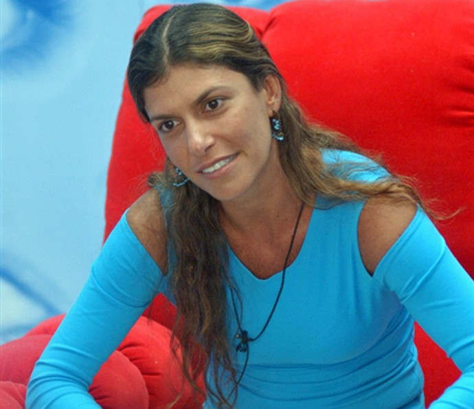 Andrea era considerada a 'big mother' do BBB3 (Foto: TV Globo)