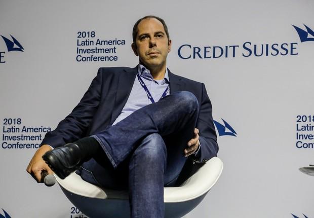 Eric Acher, CEO da Monashees, durante evento do Credit Suisse em São Paulo (Foto: Divulgação/Credit Suisse)